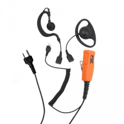 Oortje voor om het oor met palm mic icom