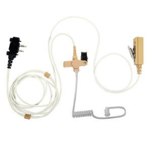 2-wire mic/ptt MC oortje