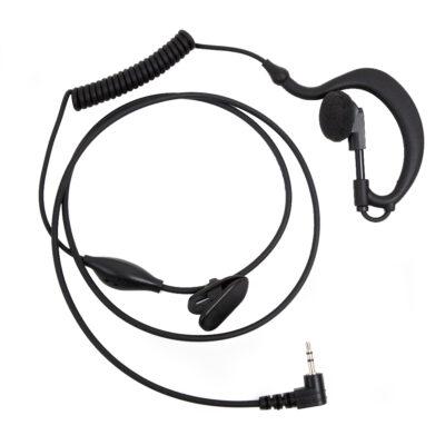surveillance oortje met microfoon 2,5mm plug