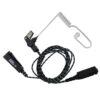 Oortje met luchtslang noise cancelling mic/ptt STP8000