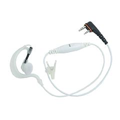 Oortje met inline microfoon voor een icom portofoon