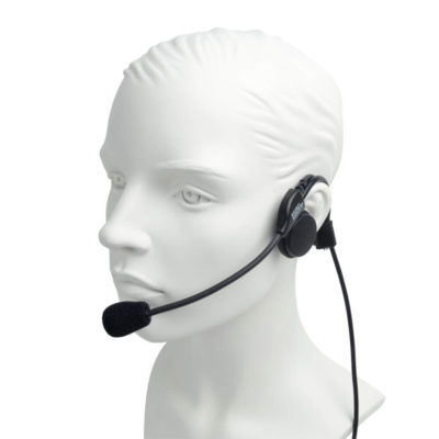 PRO-P580LWO STP Headset with small inline PTT Sepura STP