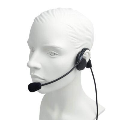PRO-P580LWO STP Headset with small inline PTT Sepura STP