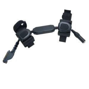 2x wireless PTT icom 9-pin
