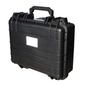 Koffer voor portofoons medium zwart