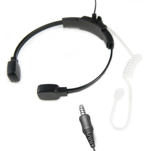 Oortje met luchtslang en microfoon 4-pin nexus aansluiting