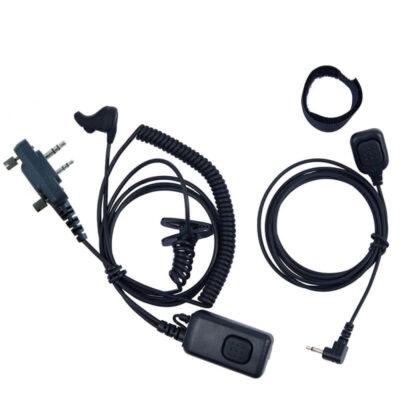 headset met ptt icom screw