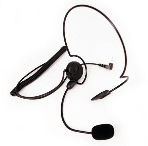 lichtgewicht headset met 2,5mm plug