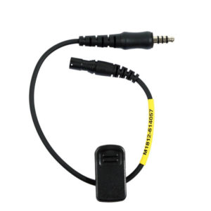 Adapter kabel mannetje peltor nexus