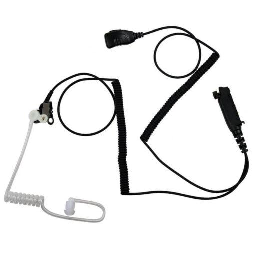 Oortje met luchtslang en PTT microphone sepura stp8000