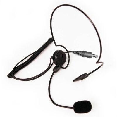 headset met 6,3mm plug
