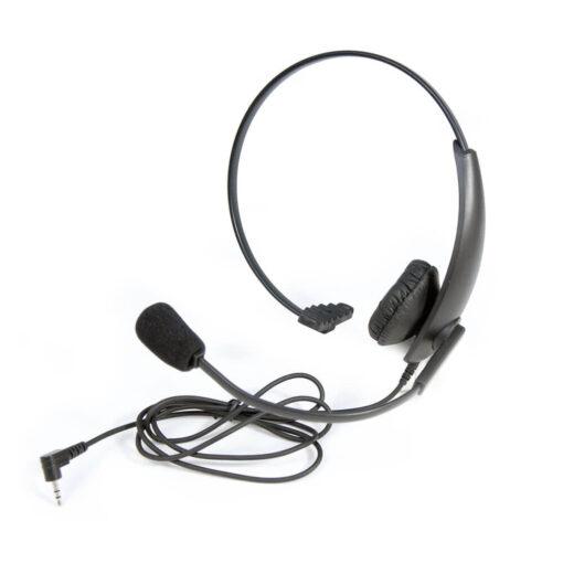 lichtgewicht headset met 2,5mm jackplug