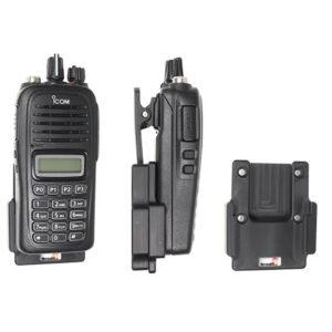 mobiele houder voor icom F1000 F2000
