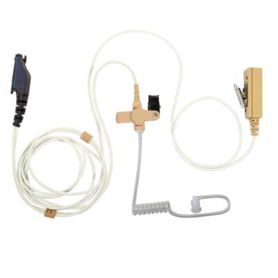 beveiligingsoortje microfoon ptt icom portofoon