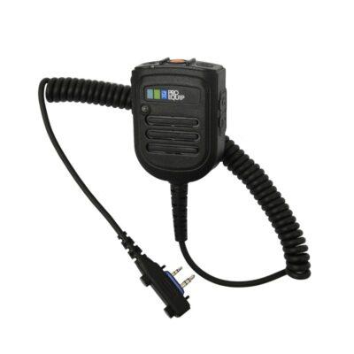 High-end Handmic met Amplifier, E-button voor Icom LA