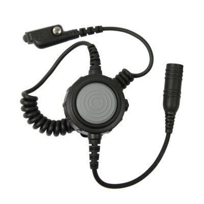 ptt knop met volumeregelaar en nexus voor peltor